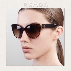 🚫SOLD🚫AUTH PRADA Cateye Polarized Sunglasses NWT